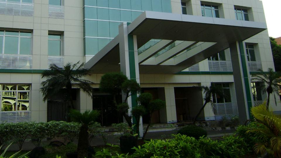 Gedung YXGK English Course yang terletak di kawasan BSD, Tangerang Selatan